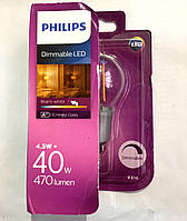 LED лампа PHILIPS 4,5W (Dimmable)
