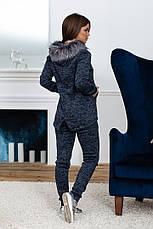 Спортивный костюм зима женский с мехом, фото 3