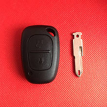 Ключ Рено Трафик , Мастер Renault Traffic, Master 2002-2010 2 кнопки PCF7946 ID46 433Mhz