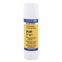 Клей-карандаш Economix, основа PVP 21г