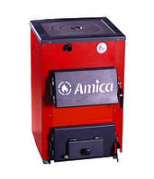 Твердотопливный котел с плитой Amica Optima 14p кВт