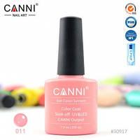Гель-лак CANNI № 011 (насыщенный ярко-розовый)