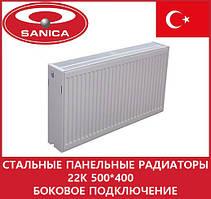 Стальные панельные радиаторы 22k 500*400 боковое подключение