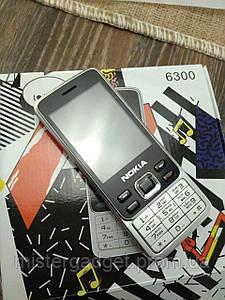 Мобильный телефон Nokia 6300 Экран 2,4'' GPRS Нокия MicroUSB