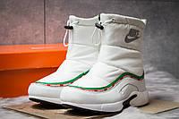 Зимние ботинки на меху Nike Apparel, белые (30633),  [  41 (последняя пара)  ]