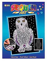 Набор для творчества Sequin Art BLUE Snowy Owl New SA1604