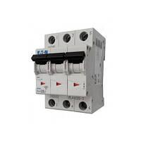 Автоматический выключатель PL6-В40/3 40А 3р х-ка В 6кА Eaton, 6053