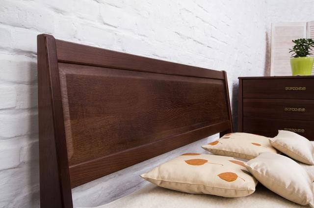 Кровать двуспальная Сити с изножьем филенка изголовье (фото 2)