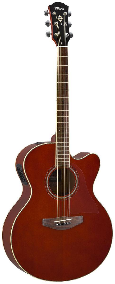 Електро-акустична гітара YAMAHA CPX600 (Root Beer)