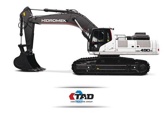 Гусеничный экскаватор HIDROMEK HMK 490LC HD, фото 2