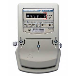 Счетчик электроэнергии ЦЭ6807Б-U М6Ш6 220В 5(60)А Однофазный, однотарифный, фото 2