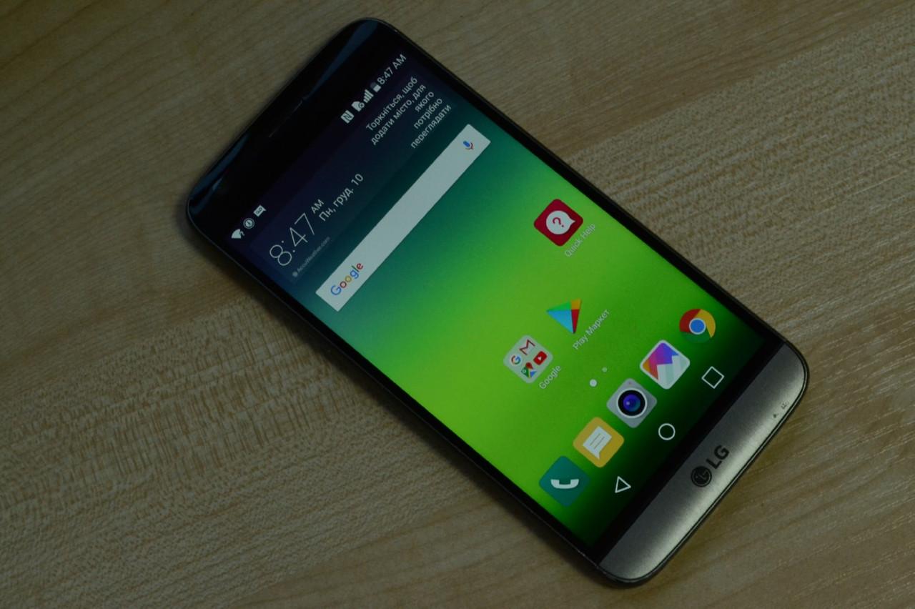 Смартфон LG G5 LS992 Grey - 4Gb RAM, 32Gb Оригинал!