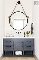 Зеркало лофт. Круглое зеркало на канате (мод.R15) D650мм 3500грн