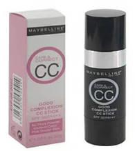 Тональный крем со спонжем Maybelline Care&Correct CC (палитра 3шт)