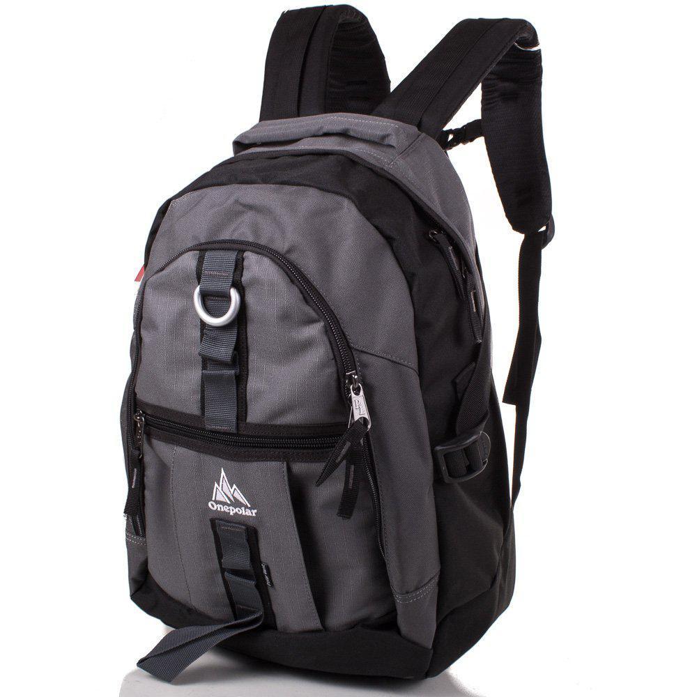 27aad441d7c8 Мужской спортивный рюкзак ONEPOLAR (ВАНПОЛАР) W731-grey - Bigl.ua