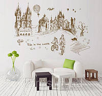 Декоративная наклейка на стену Замок, фото 1