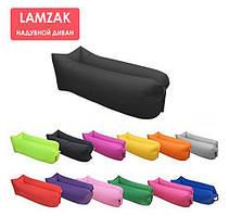 Ламзаки надувний диван люкс хакі