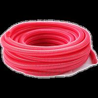 Гофра напорно-всасывающая красная 65мм 25м