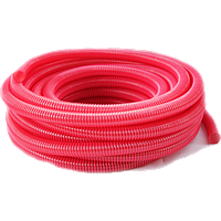 Гофра напорно-всасывающая красная 75мм 25м