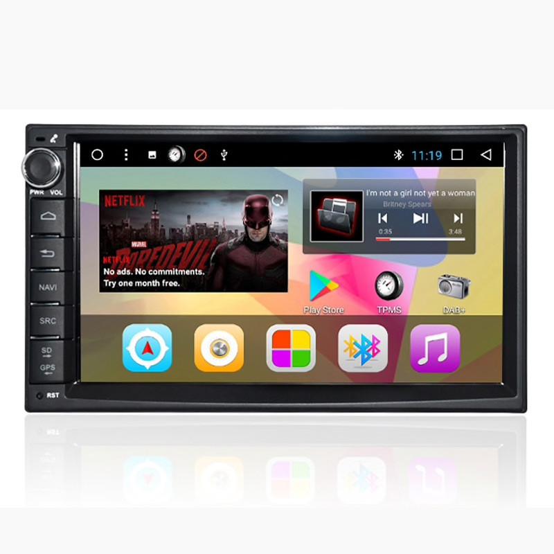 Универсальная магнитола Prime-X A7 Max. Android