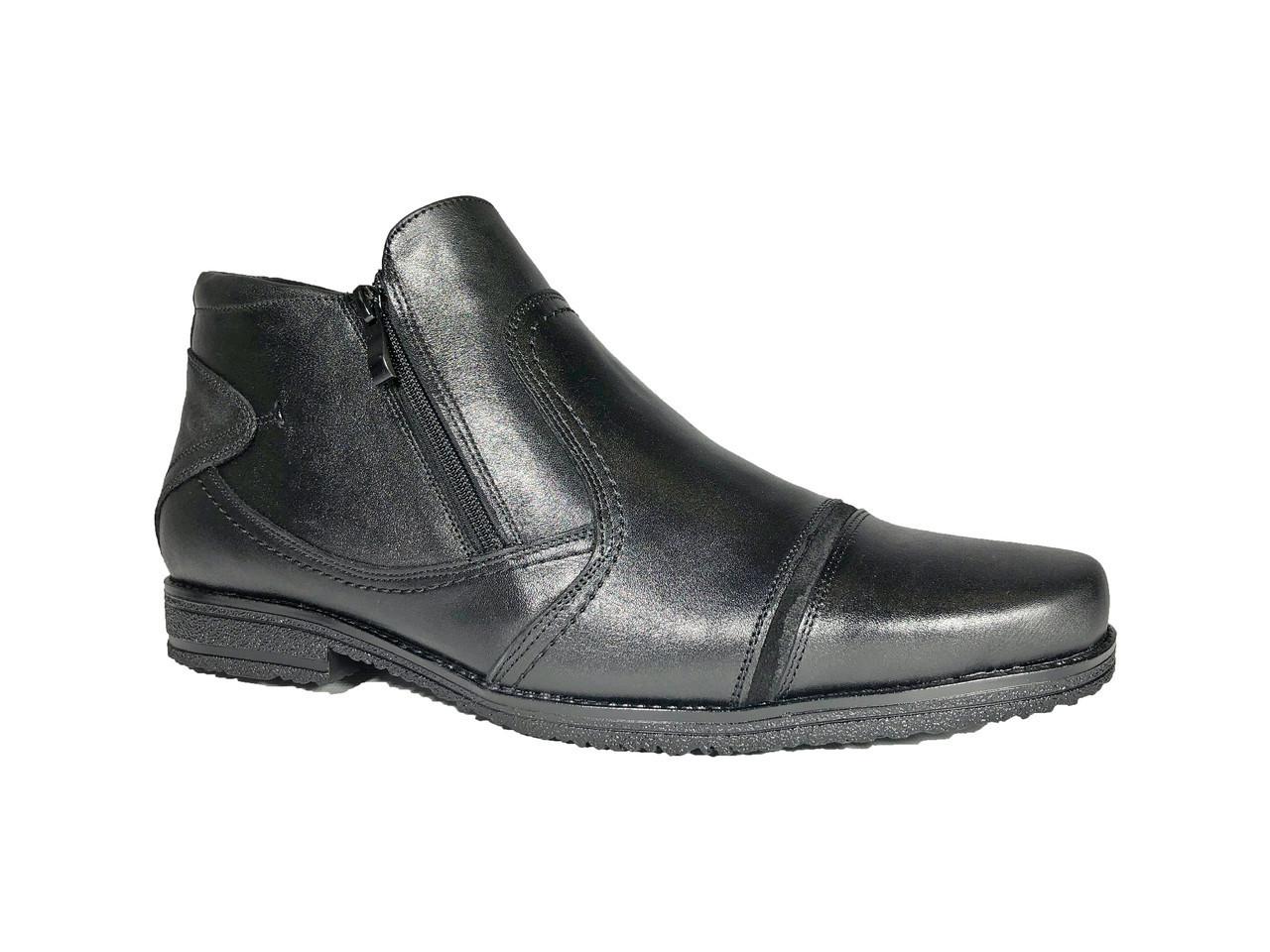 f4d5398b Ботинки мужские 48 размера со змейкой модель Б-38 - BigBoss-производитель мужской  обуви