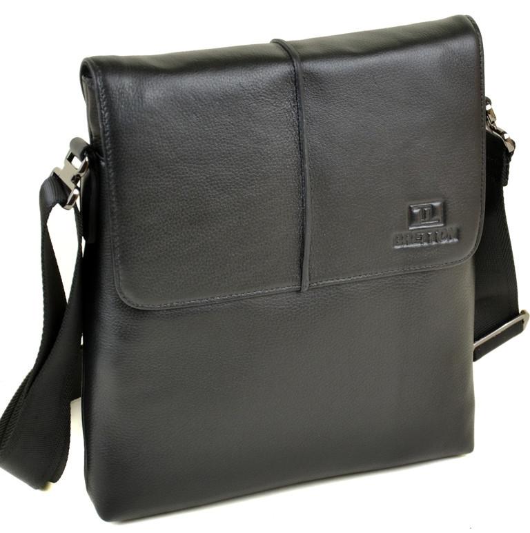 c94c134825af Сумка Мужская Планшет кожаный BRETTON BE 3547-3 black.Купить мужскую  кожаную сумку