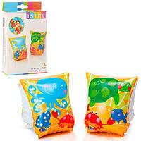 Детские надувные нарукавники Intex 58652 Рыбки