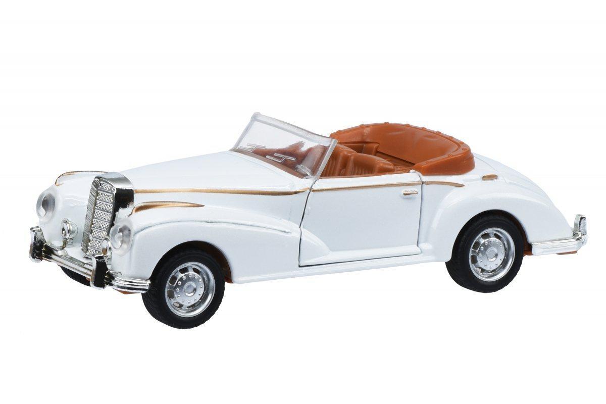 Автомобиль 1:36 Same Toy Vintage Car Белый открытый кабриолет 601-4Ut-6