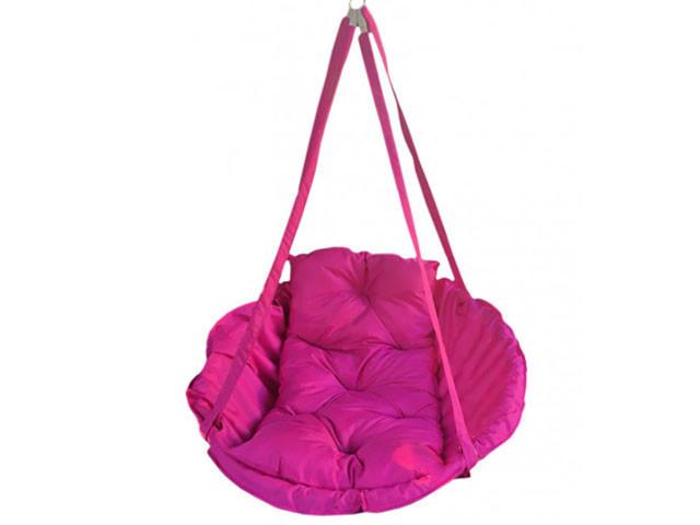 Качеля гамак Производство Украина Premium 200 кг розовый