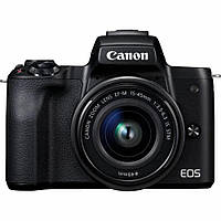 Фотоаппарат Canon EOS M50 Kit 15-45mm IS STM Black