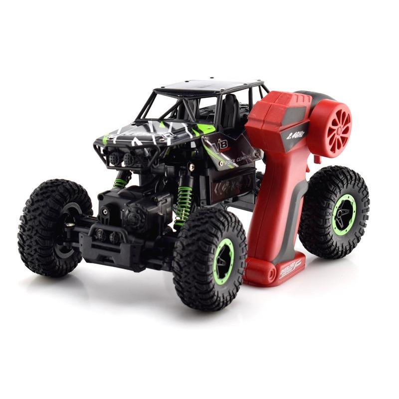 Машина джип на радиоуправлении Rock Crawler 8897-192BGreen (Зелёный)