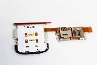 Клавіатурний модуль для телефону C3-01, з конектором карти пам'яті, SIM-карти