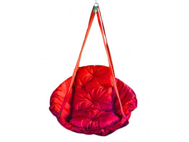 Подвесная детская качеля Гамак 250 кг 120 см Красный