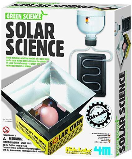 4M Досліди з сонячною енергією, конструктор для розвитку дітей