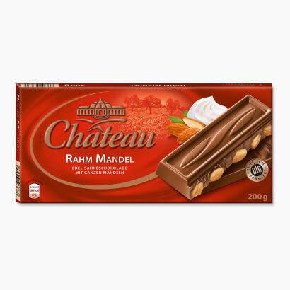 Шоколад Château Rahm Manndel молочный с цельным миндалем 200г, фото 2