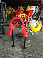 Бур на трактор навесной Тad-Len - 2 шнека 50 см, 25 см Польша