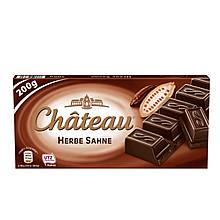 Шоколад Château Herbe Sahne черный 200g