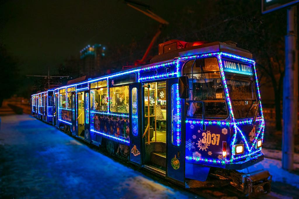 Новорічний трамвайчик 1