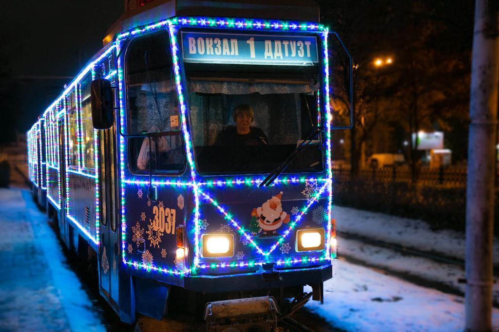Новорічний трамвайчик 2