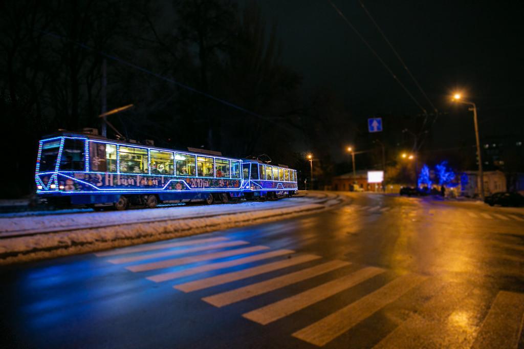 Новорічний трамвайчик 3