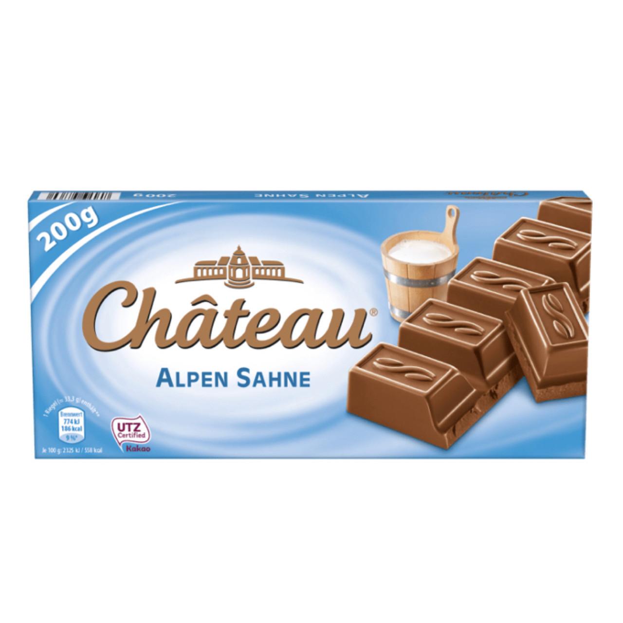 Шоколад Château Alpen Sahne молочный 200 г