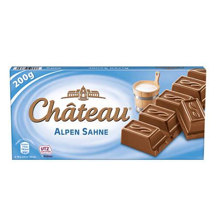 Шоколад Château Alpen Sahne молочный 200 г, фото 2