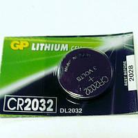 Батарейка CR 2032, GP. , цена за 1 шт., фото 1