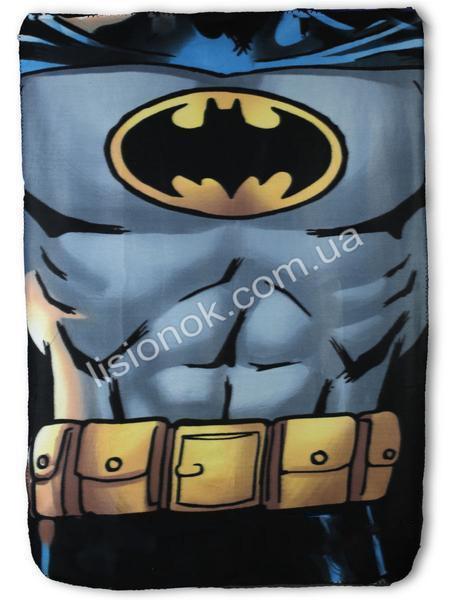 Флісовий плед Бетман від DC Comics 100 * 150см в ліжечко, коляску, килимок для ігор