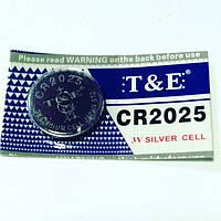 Батарейка CR 2025, цена за 1 шт., фото 1