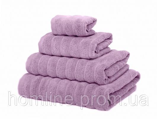 Махровое полотенце Irya Frizz microline lila лиловый 30*50
