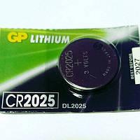 Батарейка CR 2025, GP. , цена за 1 шт.