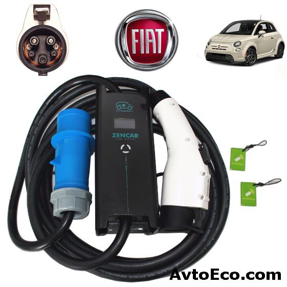 Зарядное устройство для электромобиля Fiat 500e Zencar-J1772-32A