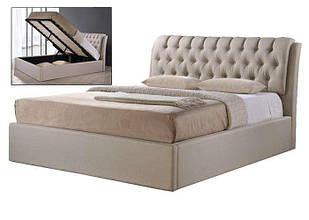 Ліжко з ДСП/МДФ в спальню Кемерон з підйомним механізмом (брокард) Domini
