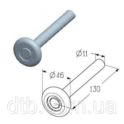 Ролик ходовой для ворот ось 11 мм